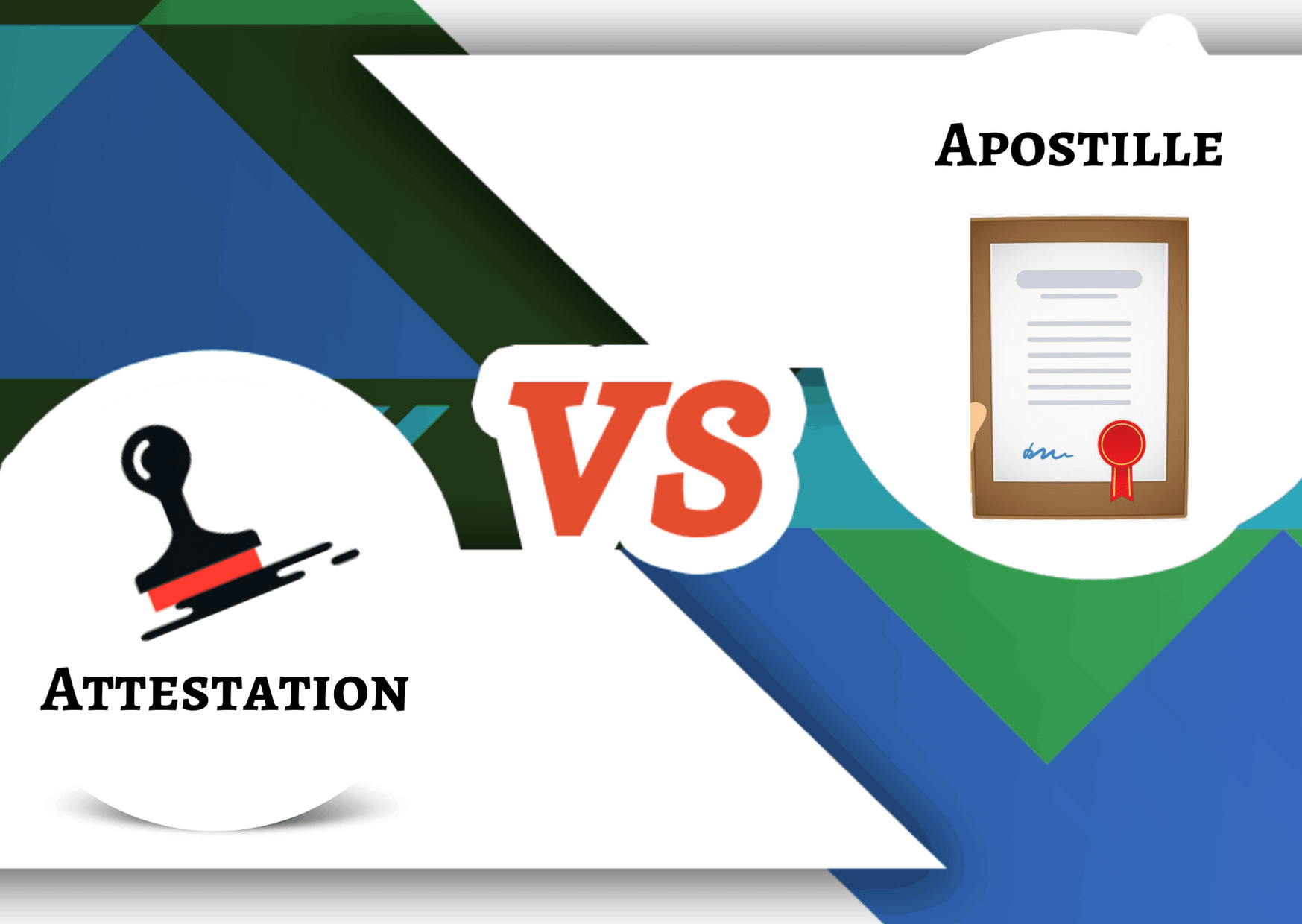 Attestation vs Apostille